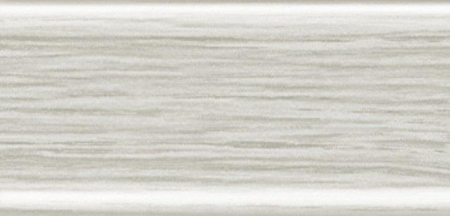 Плинтус напольный 56 мм с кабель-каналом Rico Leo Ясень серый