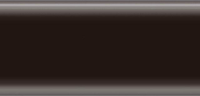 Плинтус напольный 56 мм с кабель-каналом Rico Leo Черный