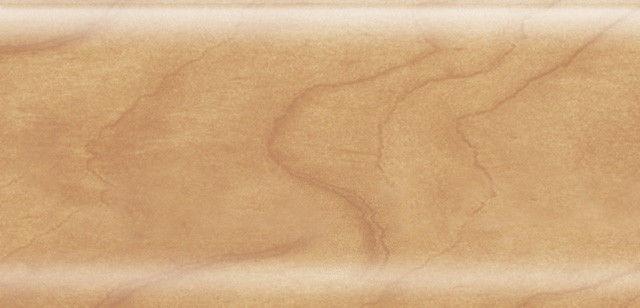 Плинтус напольный 56 мм с кабель-каналом Rico Leo Орех грецкий