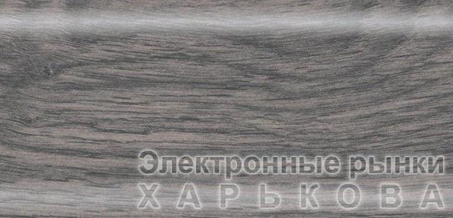 Плинтус напольный 56 мм с кабель-каналом Rico Leo Алтайский кедр - Плинтусы на рынке Барабашова