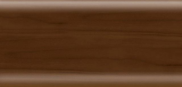Плинтус напольный 56 мм с кабель-каналом Rico Leo Джатоба