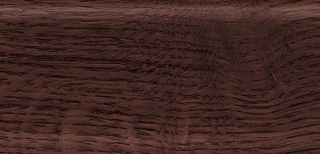 Плинтус напольный 56 мм с кабель-каналом Rico Leo Дуб марокканский