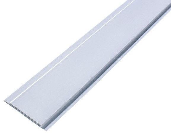 Вагонка пластиковая ПВХ Белая Люкс