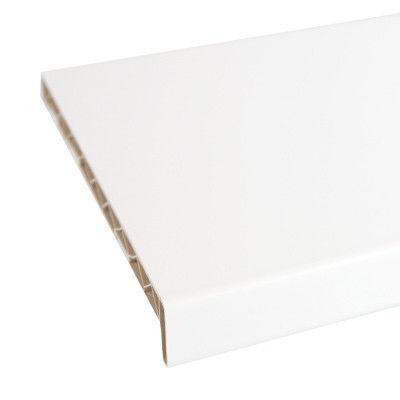 400(мм)Подоконник Матовый белый
