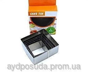 Фото Кухонные принадлежности, Набор форм для салата Набор форм для салатов Код товара 00035