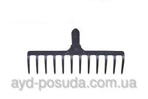 Фото Садовый инструмент Грабли прямые 12 зубые Код товара 00448
