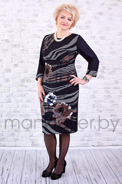 "Платье ""Манкловер"" 574"