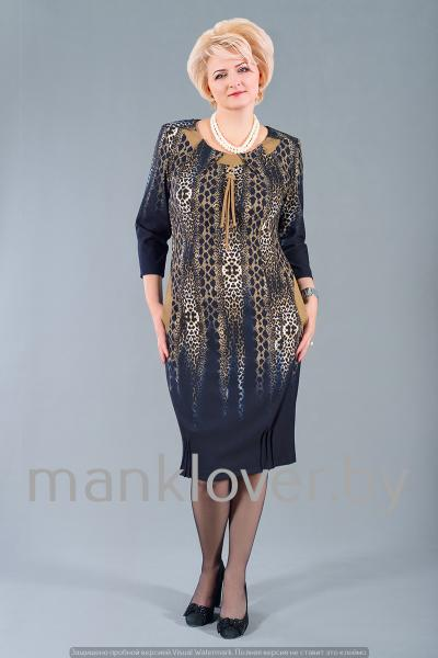 "Платье ""Манкловер"" 578-1"