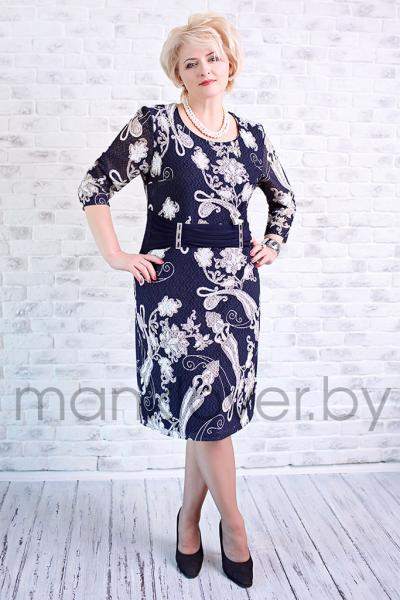 "Платье ""Манкловер"" 582"