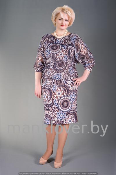 "Платье ""Манкловер"" 594"