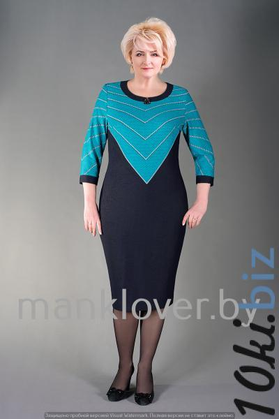 """Платье """"Манкловер"""" 632 купить в Гродно - Платья больших размеров"""