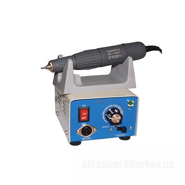 Фото Для зуботехнических лабораторий, ОБОРУДОВАНИЕ Бормашина МARATHON-3 с техническим наконечником