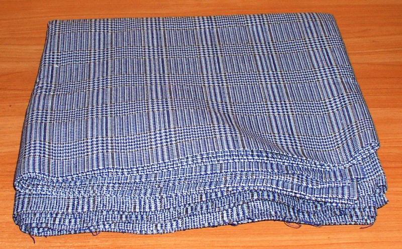 Отрез ткани: хлопок + акрил (5,89 м2) *4417
