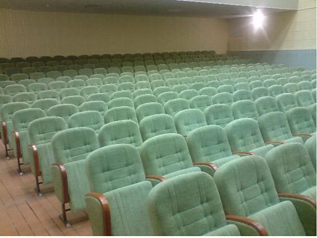 Кресло М3 театральное в зрительный зал, актовый зал, кинозал полумягкие под заказ от белорусского производителя. Цена