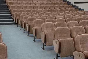 Фото Кресла для актовых залов школы, колледжа, клубов, конференц-залов, Домов культуры, театров и кинотеа Кресло М3-1  театральное в зрительный зал, актовый зал, кинозал полумягкие под заказ от белорусского производителя. Цена