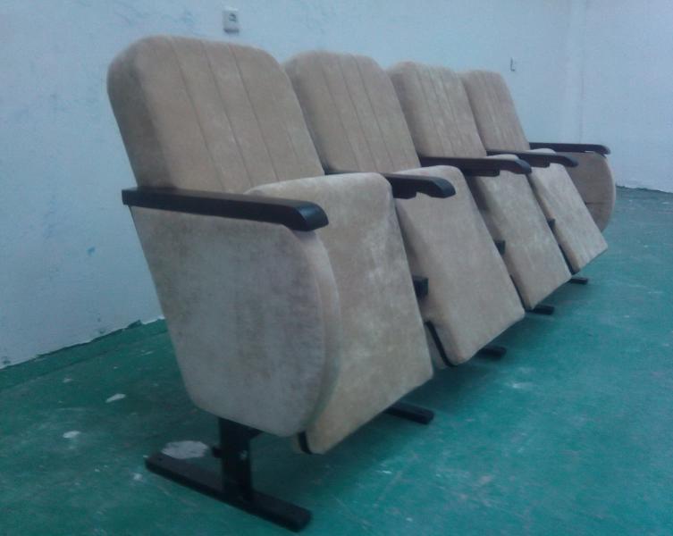 Кресло М4 в актовый, кинотеатральный, зрительный зал, Дом культуры полумягкие под заказ от белорусского производителя. Цена