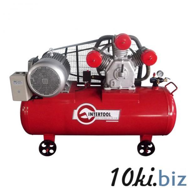 Компрессор 300 л, 15 HP, 11 кВт, 380 В, 8 атм, 1600 л/мин. 3 цилиндра INTERTOOL PT-0050 Воздушные компрессоры бытовые в Украине