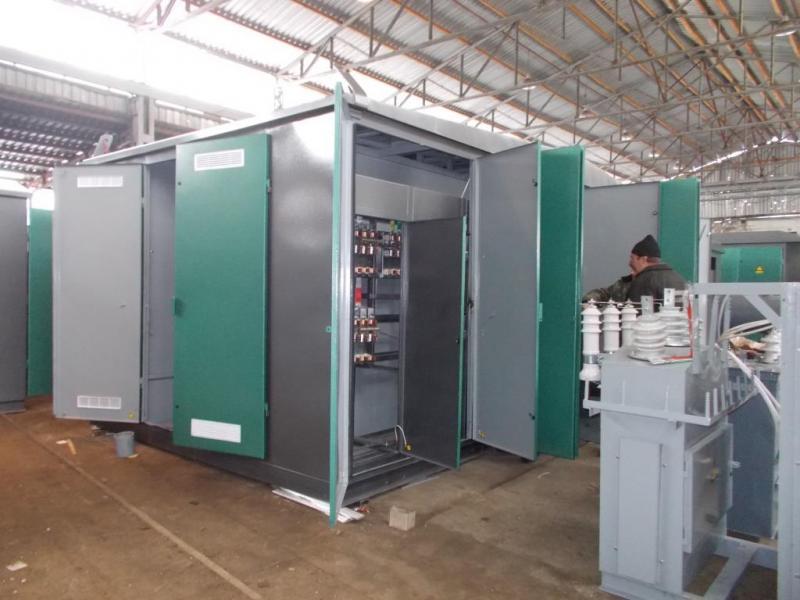 Комплектні трансформаторні підстанції для міських мреж КТПММ і 2КТПММ  100-1000/10(6)/0,4 кВА