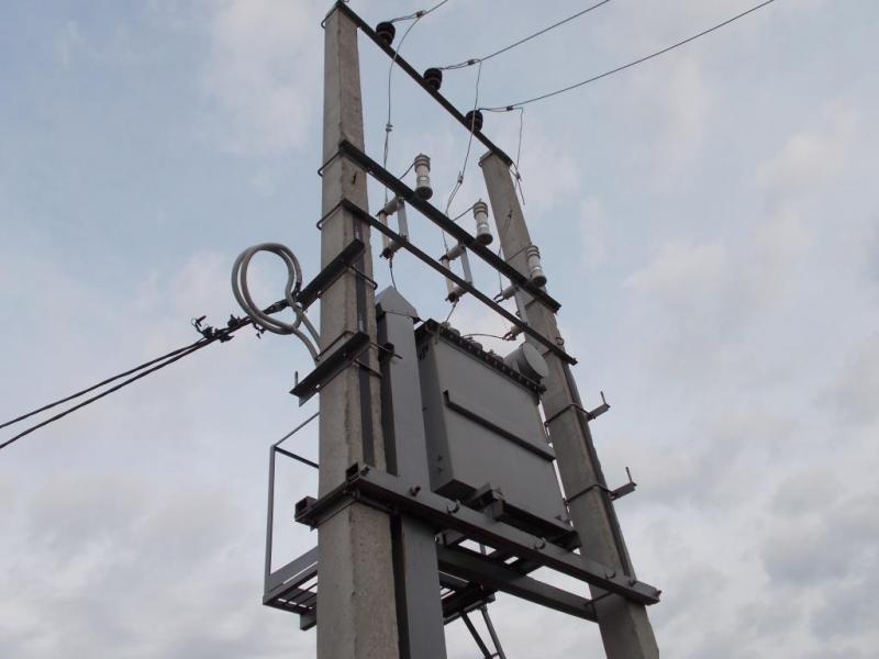 Комплектні трансформаторні підстанції КТПС 25-250/10(6)/0,4 кВА.