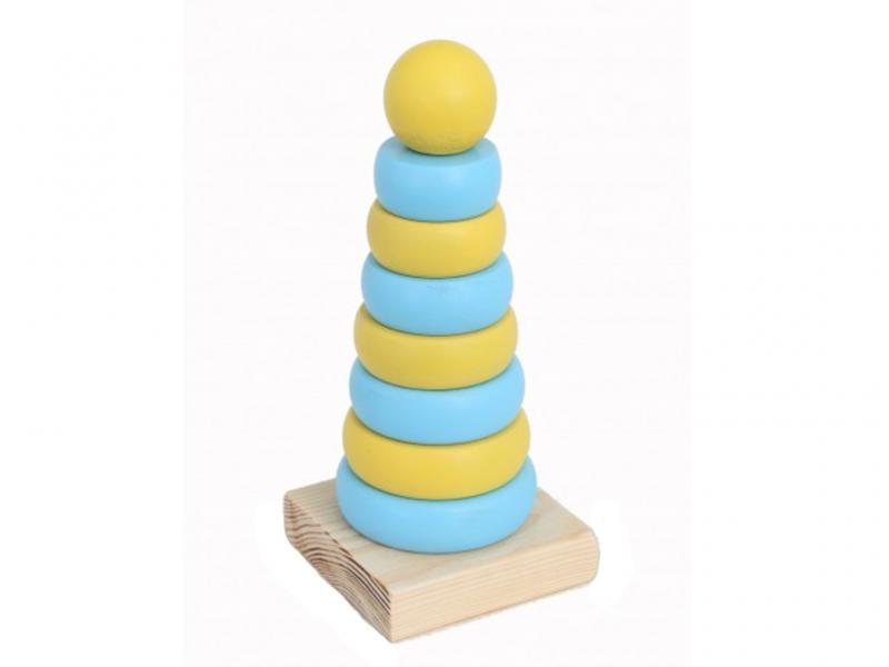 Пирамида деревянная круглая Патриот Руди Д006ау