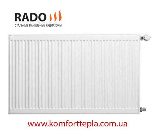 Фото Нет в наличии, Радиаторы отопления, Стальные радиаторы, Стальные радиаторы панельного типа RADO Радиатор стальной RADO тип 22 500*400