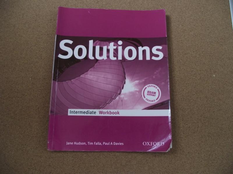 Solutions Intermediate Workbook Рабочая тетрадь по английскому языку