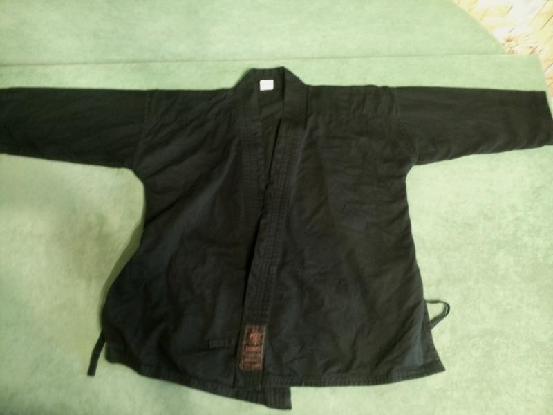 Куртка карате черная 120