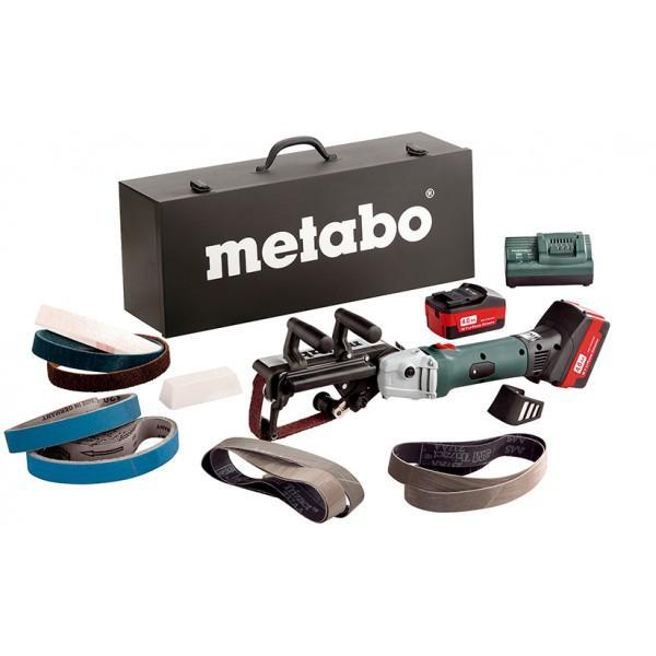 Аккумуляторный ленточный шлифователь для труб Metabo RB 18 LTX 60 SET