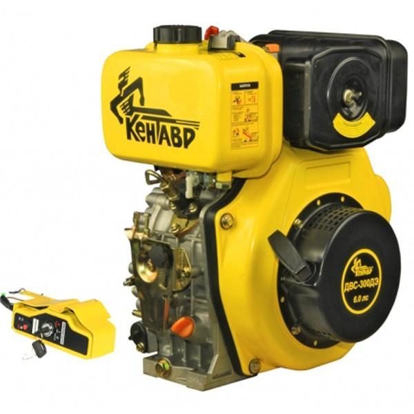 Двигатель дизельный со шлицевым валом Кентавр ДВС-300ДШЛЭ