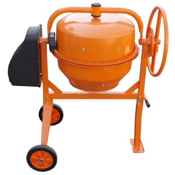 Бетономешалка Кентавр БМ-125СП оранжевая