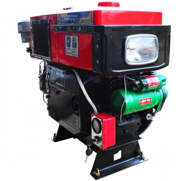 Двигатель дизельный  с водяным охлождением Кентавр ДД 1105ВЭ