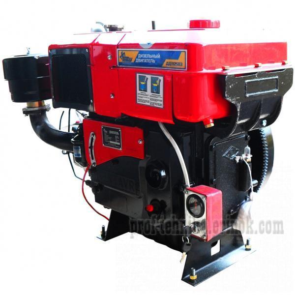 Фото Двигатели, Двигатели дизельные  Двигатель дизельный  с водяным охлаждением Кентавр ДД 1125ВЭ