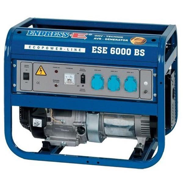 Бензиновый генератор ENDRESS ESE 6000BS-ES