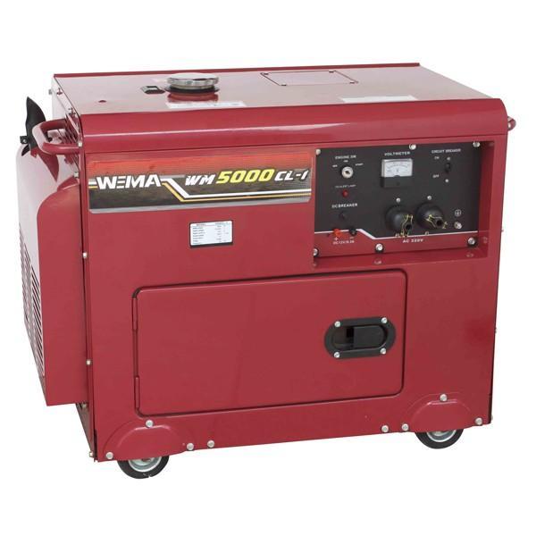Дизельный генератор WEIMA WM5000CL-1