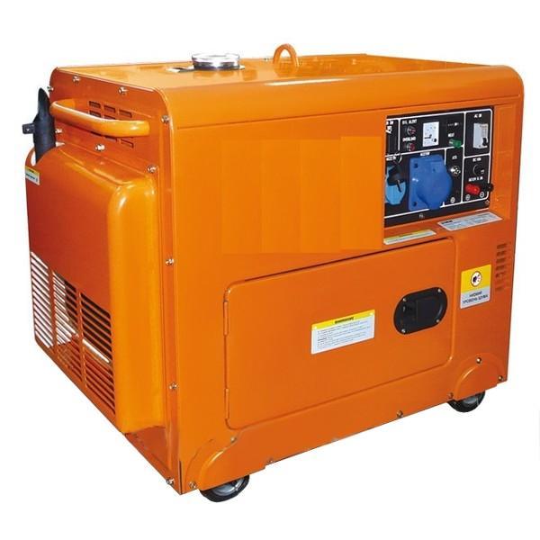 Дизельный генератор БУЛАТ BDG7000E-Siland