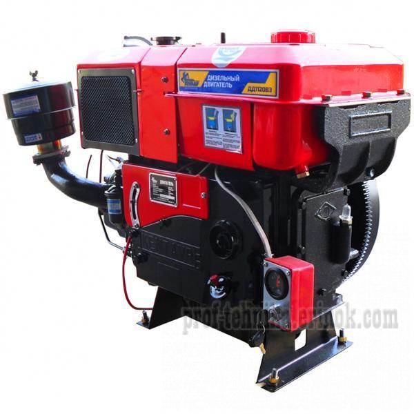 Фото Двигатели, Двигатели дизельные  Двигатель дизельный с водяным охлаждением Кентавр ДД 1120ВЭ