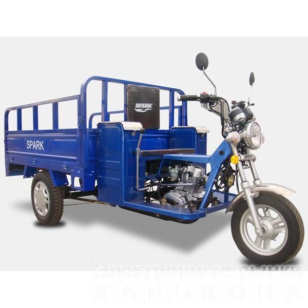 Грузовой мотоцикл Spark SP110TR-4 - Мотоциклы, мотороллеры, скутеры, мопеды на рынке Барабашова