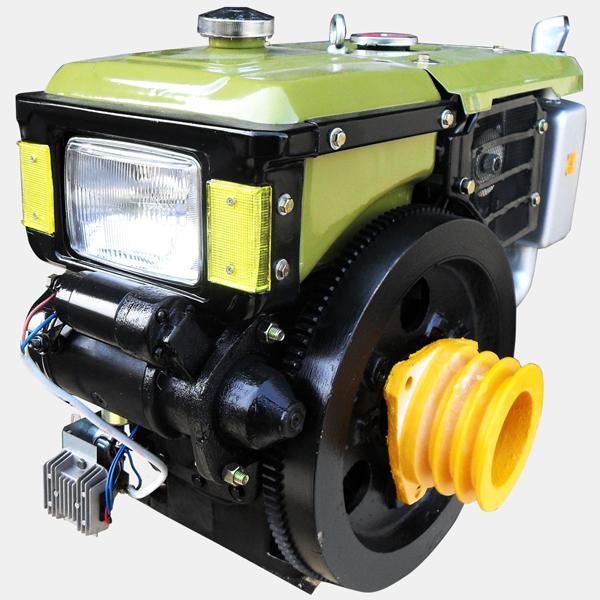 Двигатель дизельный  с водяным охлаждением Кентавр ДД 195ВЭ
