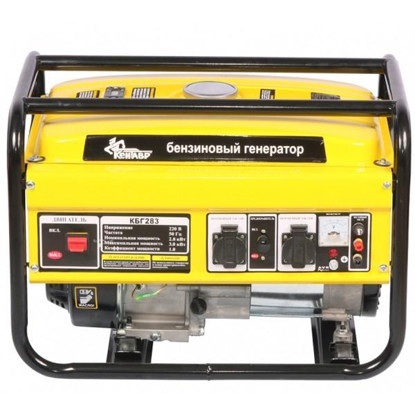 Бензиновый генератор Кентавр КБГ283