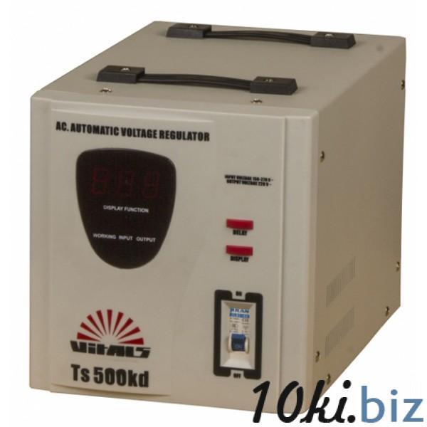 Стабилизатор напряжения Vitals Ts 500kd Бытовые насосы для водоснабжения, водоотведения на Электронном рынке Украины