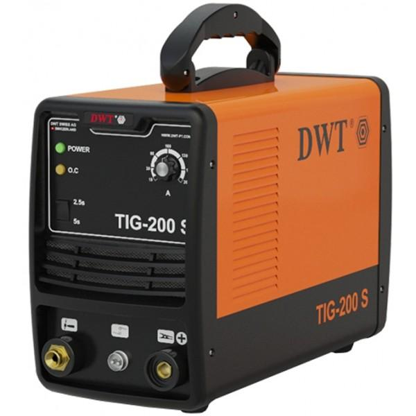 Сварочный аппарат инверторного типа DWT TIG-200 S