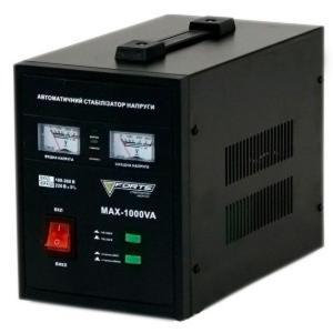 Стабилизатор напряжения Forte MAX-1000VA NEW (Релейный)