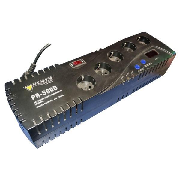 Стабилизатор напряжения Forte PR-500D (Релейный)