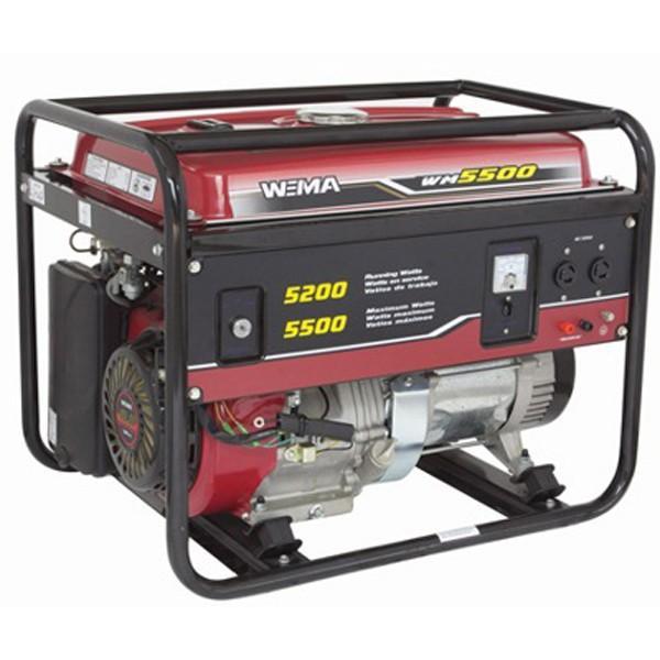 Газовый генератор WEIMA WM5500E