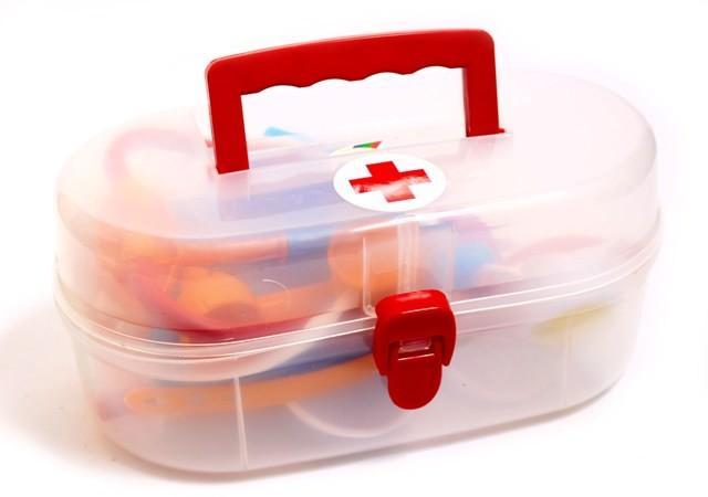 Детский набор доктора в чемодане Орион 914