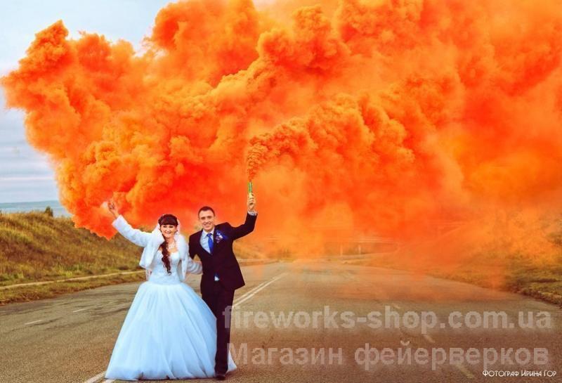 Фото Цветные дымы Дым MA0512mix/OРАНЖЕВЫЙ