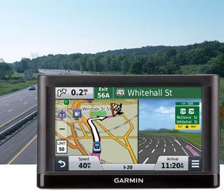 Автонавигатор Garmin nuvi 55 LT CE