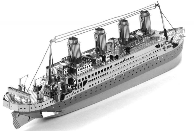 "3D пазл металлический ""Титаник"""