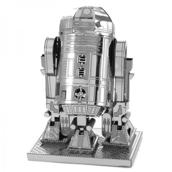 "3D пазл металлический ""Дрон R2-D2"""