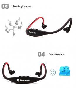 Фото Наушники Гарнитуры Epik S9 Спортивные Bluetooth Наушники водонепроницаемые беспроводные блютуз гарнитура с микрофоном